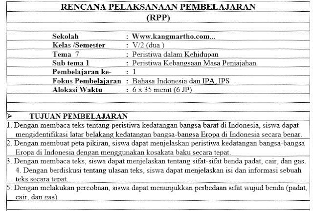 rekan semua kali ini admin akan membagikan isu mengenai Download RPP  Merdeka Belajar :  Download RPP 1 Lembar Kelas 5 K13 Revisi 2020 Semester 2