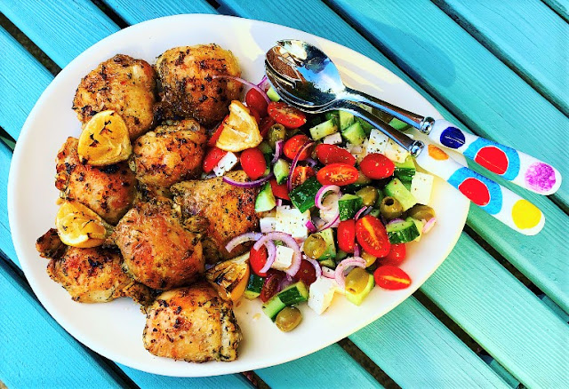 Greek Lemon Chicken Salad