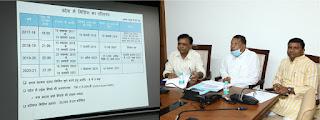 मंत्री श्री रामकिशोर नानो कावरे का प्रस्ताव केप गोदामों को कवर्ड गोदाम में बदला जाय