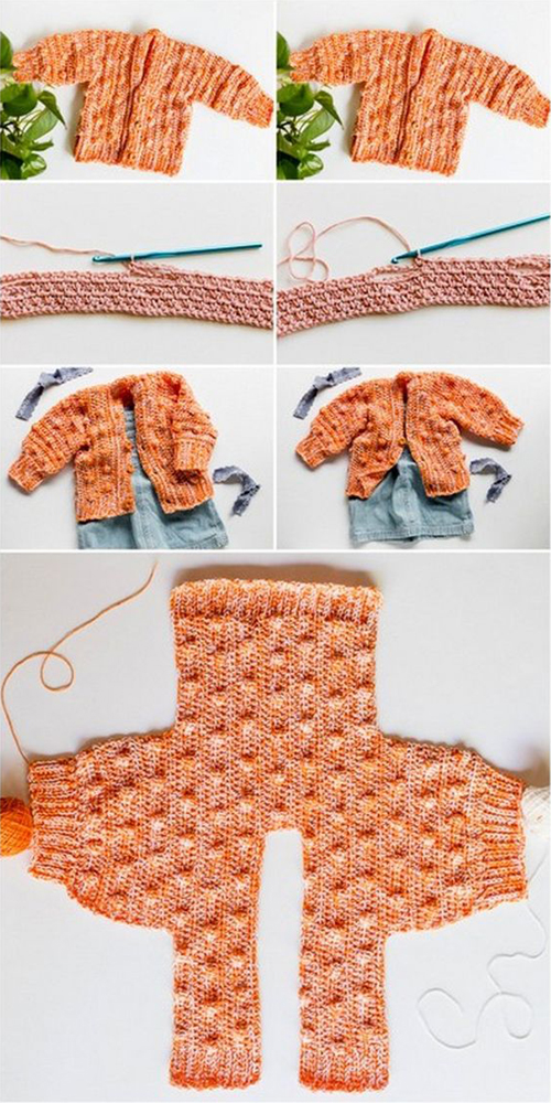 The Lynden Baby Sweater - Free Pattern & Tutorial