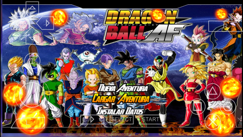 Android Game Dragon Ball Z AF Tenkaichi Mod Download