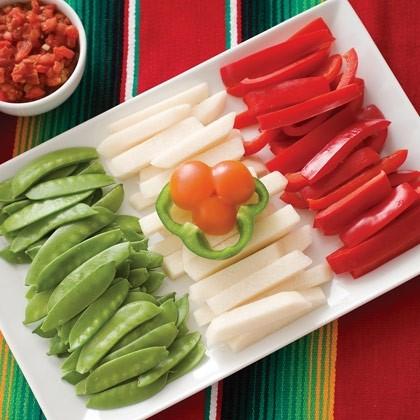 Edible Flag for Cinco de Mayo Recipe
