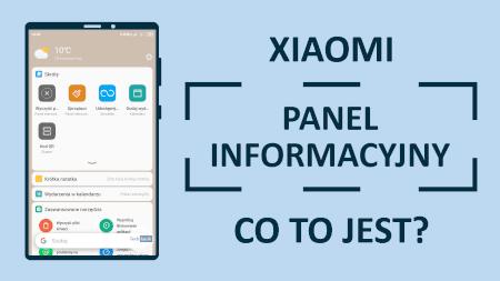 Xiaomi Panel Informacyjny
