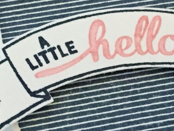A little hello...