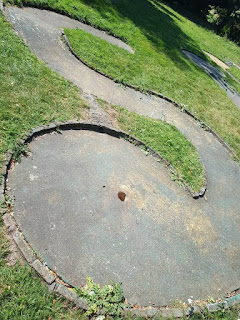 Crazy Golf at Riverside Park in St Neots. Photo by Steve Gow