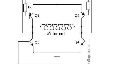 Steppernews: H-bridge circuit of stepping motor