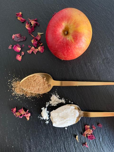 Apfelkuchen-Traum, Rezept, glutenfrei, vegan, schnell, einfach, Werz, Herbstgericht, Avocadoöl, Apfel, Buchweizen, Backen, Backrezept, Kuchenrezept