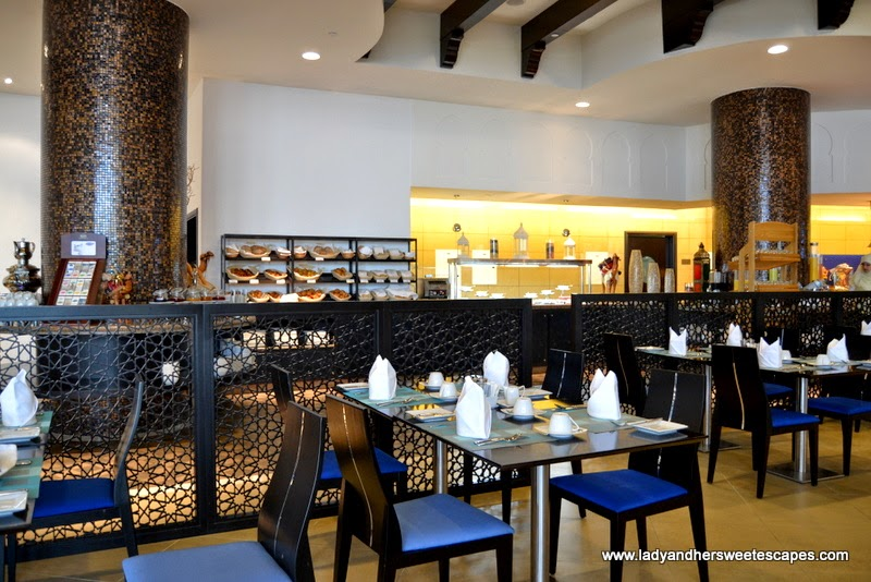 Mediterranean restaurant at The Ajman Palace