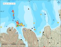 Största jordskalvet på tio dagar på norra Island