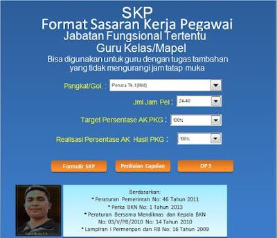 Download Aplikasi SKP Kenaikan Pangkat Terbaru versi 2017