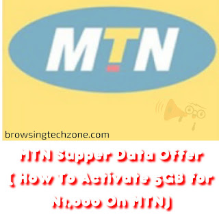 How to activate 5GB for N1000 on MTN
