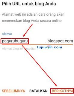 blogspot : cara membuat blogger di hp android