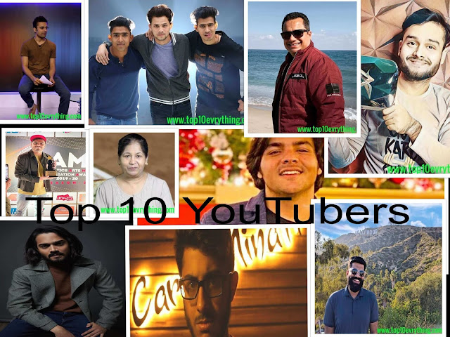 Top-10-YouTubers-In-India-With-more-Number-of-Subscribes