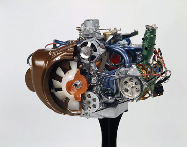 Citroen GS Boxer Engine Motor