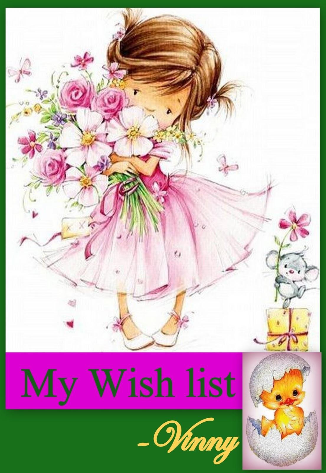 My wish list :):)