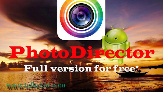 تحميل تطبيق PhotoDirector Photo Editor App v12.0.0 (Premium) Apk