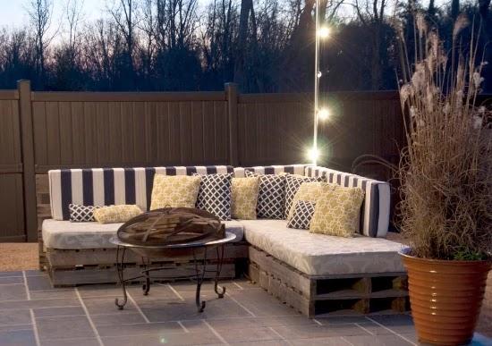 Desain sofa inspiratif dari palet bekas