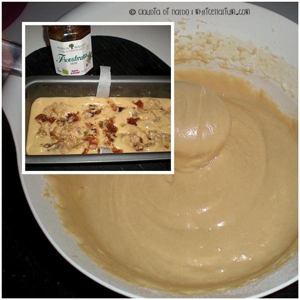 Plumcake soffice con confettura di fichi