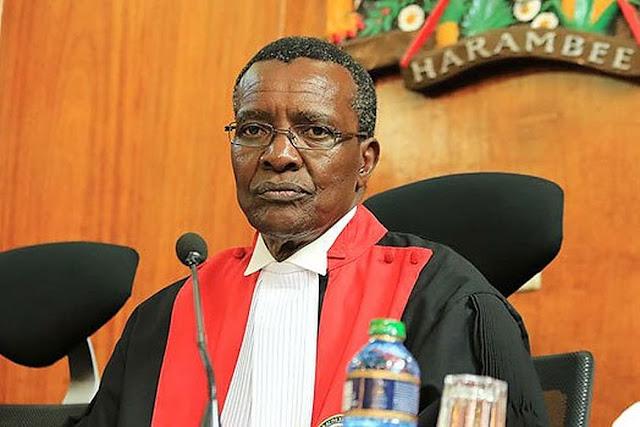 Chief Justice David Maraga photo and News