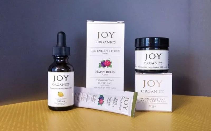 Joy Organics CBD مرهم