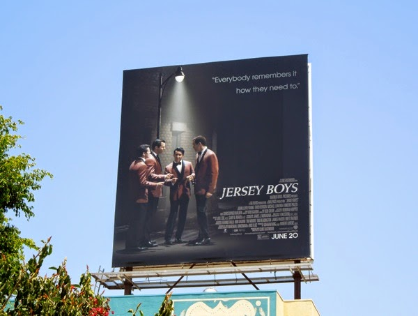 Jersey Boys movie billboard