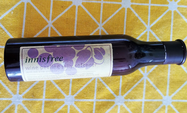 Innisfree Wine Peeling Gel Review