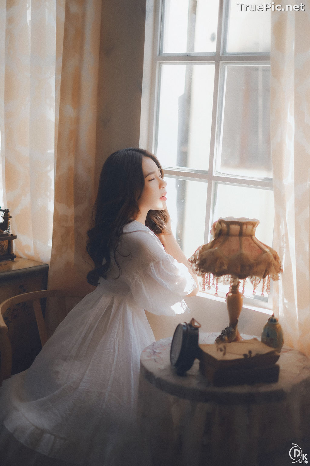 Image Vietnamese Beautiful Girl - The Lonely White Princess - TruePic.net - Picture-1