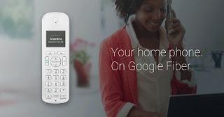 خدمة جوجل fiber phone الهاتف الثابت