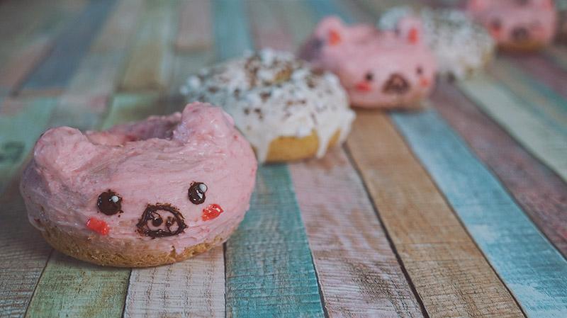 KuneCoco • Rezept • Leckere Schweine Donuts