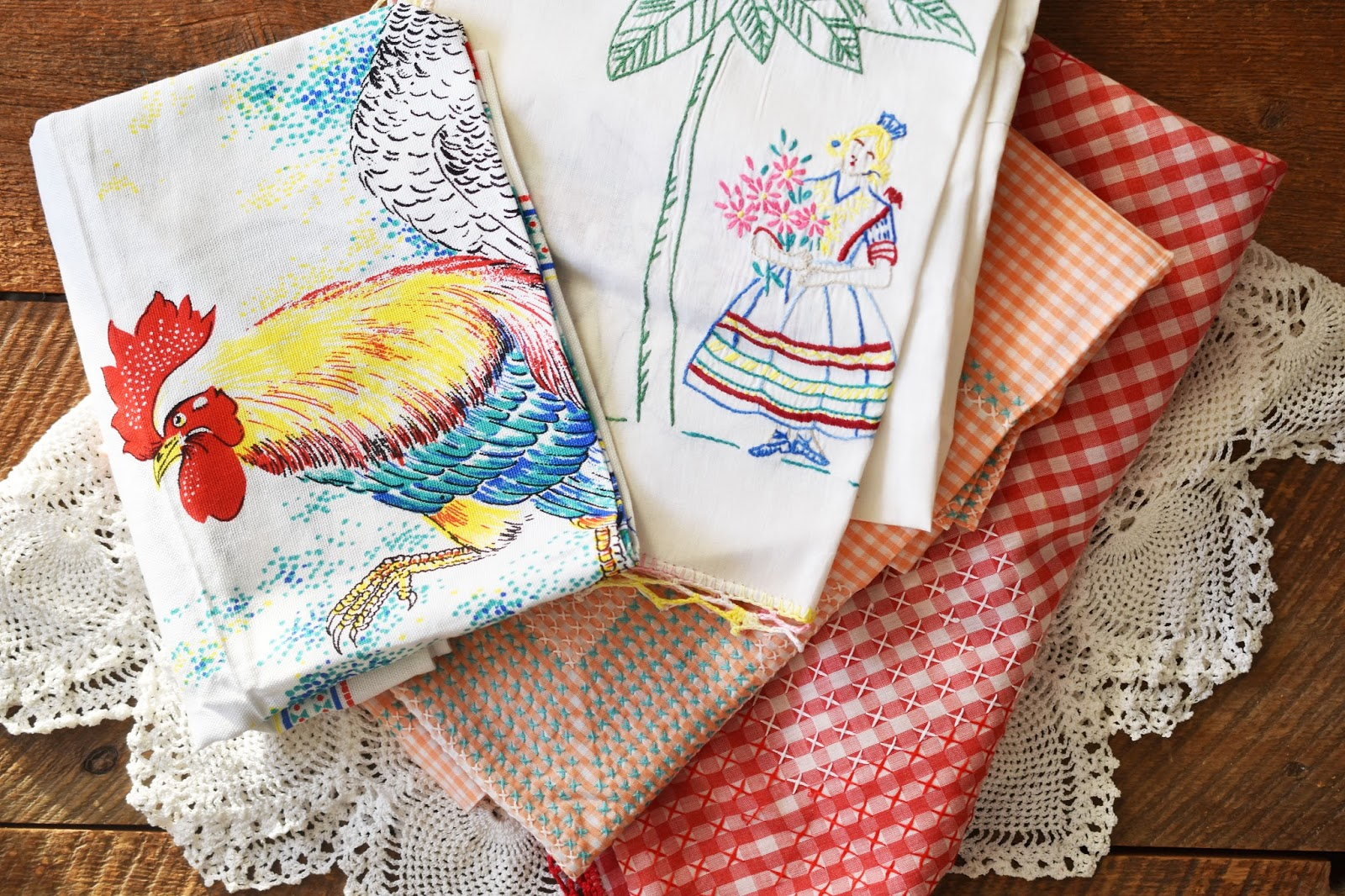 Woman in real lifethe art of the everyday vintage table linens i like many of you see january as a time of reflection a time to think about what i want to do more of and what i want to do less junglespirit Images