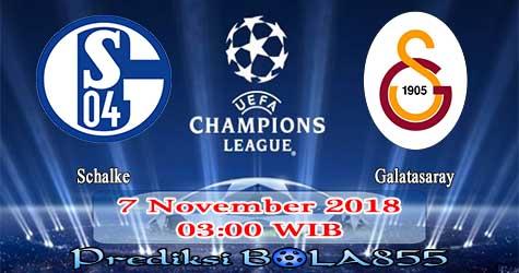 Prediksi Bola855 Schalke vs Galatasaray 7 November 2018