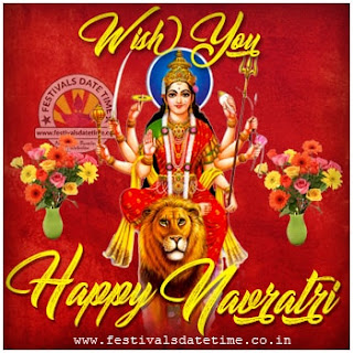 Happy Navratri Wallpaper Free Download 3