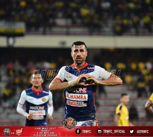 Mohamad Ghaddar ledak hatrik vs Perak