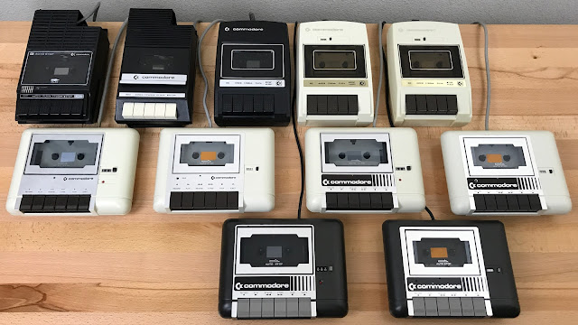 My commodore tape drive collection