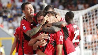 Spezia Vs Milan, Maldini ghi bàn, Rossoneri thắng 2-1