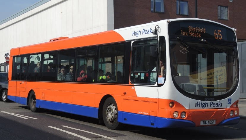 Public transport experience march 2017 for Timetable 85 sheffield
