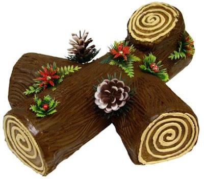 Bûche de noël, a francia karácsonyi fatörzs