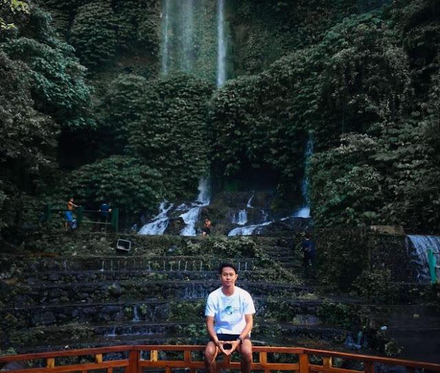 Air Terjun Benang Kelambu di lombok : Harga tiket masuk, lokasi dan Fasilitas