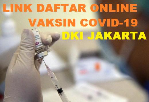 Ini dia link daftar online Vaksin gratis di Jakarta