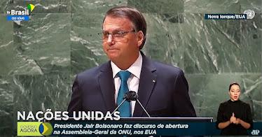 Na ONU, Bolsonaro mostra o Brasil real para o mundo
