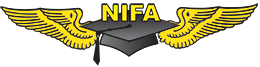 National Intercollegiate Flying Association (NIFA) Logo and Wings