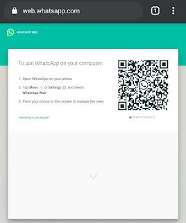 cara melihat barcode whatsapp lewat hp