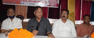 #JaunpurLive : व्यापारियों को मुआवजा और आर्थिक पैकेज दे सरकार:कंछल