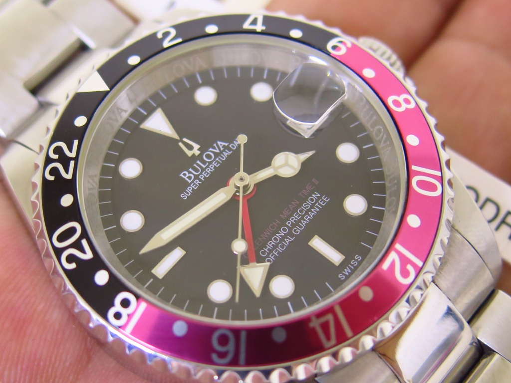BULOVA GMT COKE BEZEL - AUTOMATIC