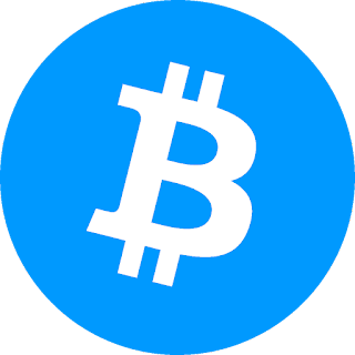 Bitcoins Blue Logo