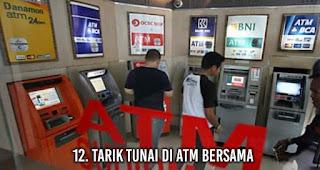 Tarik Tunai di ATM Bersama tanpa sadar membuat uangmu cepat habis