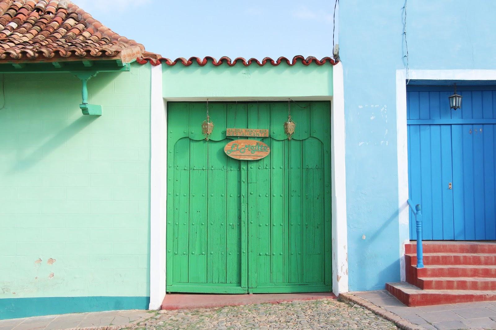 Porte verte El Mojito, Trinidad - Cuba