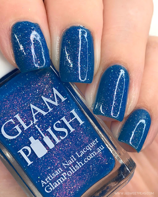 Glam Polish Shattered Empire 25 Sweetpeas