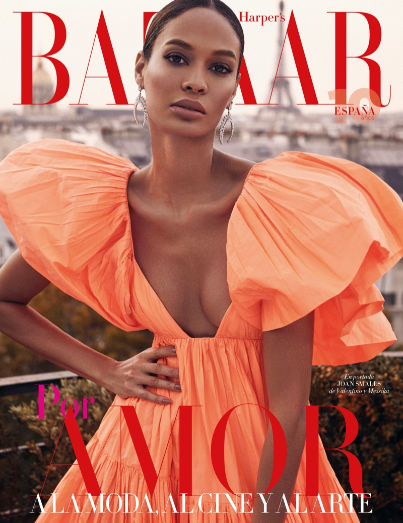 Joan Smalls graces Harper's Bazaar Spain's February 2020 newsstand and subscribers cover