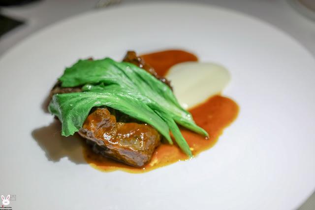 melbourne fine dining restaurants; grossi florentino; veal cheek